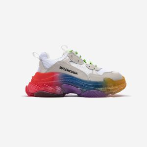 Balenciaga Triple S Clear Sole trainers Rice Yellow 656686W06G01001