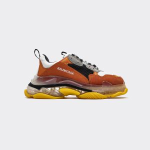 Balenciaga Triple S Gray Orange 544351 W09OH 7087