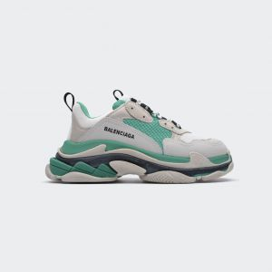 Balenciaga Triple S 'Mint Green' 524039 W09E1 9878