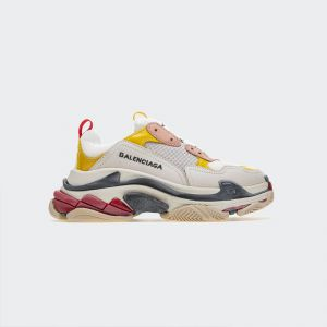 Balenciaga Triple S Pink Yellow Sneakers 490672W09O59035