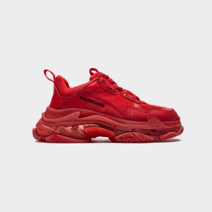 Balenciaga Triple S Red 490671 W06F1 9000