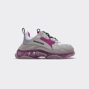 Balenciaga Triple S White Purple Red 544351 W09OH7081