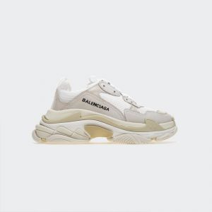 Balenciaga Triple S White Sneakers 490671W06F19000