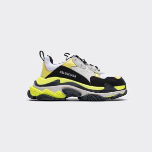 Balenciaga Triple S White Yellow 524039 W09OH 7079