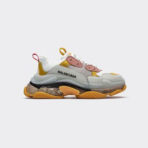 Balenciaga Triple S Yellow 490673 W06E3 4365