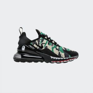 on sale e396f 68c47 Bape x Nike Air Max 270 AH6799-003