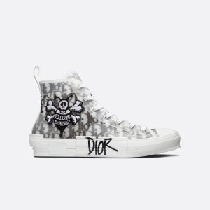 Dior B23 High 'Dior Oblique - Shawn Bee Embroidery Patch' 3SH118YYO H960