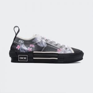 Dior B23 Oblique Low Top Black Sneaker T00853H063