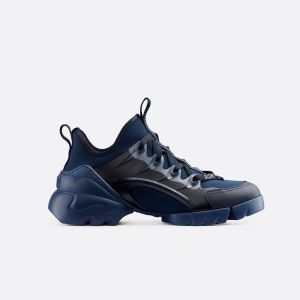 Dior INDIGO BLUE D-CONNECT NEOPRENE SNEAKER KCK222NGG_S74B