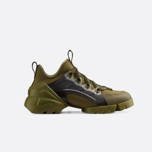 Dior KHAKI D-CONNECT NEOPRENE SNEAKER KCK222NGG_S11H