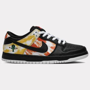 Dunk SB Low 'Tie-Dye Raygun - Black' BQ6832 001