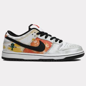Dunk SB Low 'Tie-Dye Raygun - White' BQ6832 101
