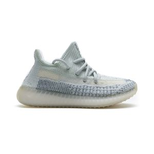 Kids Adidas Yeezy Boost 350 V2 Cloud White FT5317