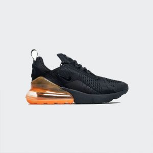 Nike Air Max 270 Black Total Orange AH8050-008