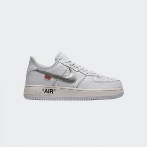OFF-White x Nike Air Force 1 Low White Silver AO4297-100