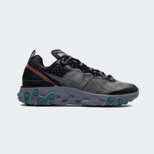"Nike React Element 87Undercover""Neptune Green"" AQ1090-005"