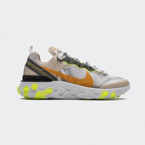 "Nike React Element 87Undercover""Orewood Brown"" AQ1090-101"