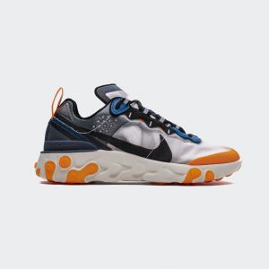 "Nike React Element 87Undercover""Total Orange"" AQ1090-004"