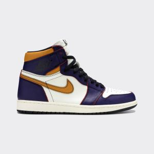 Nike X SB Air Jordan 1 Lakers Retro High 'LA To Chicago' CD6578-507