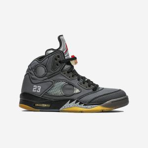 OFF-WHITE x Air Jordan 5 Retro SP 'Muslin' CT8480-001
