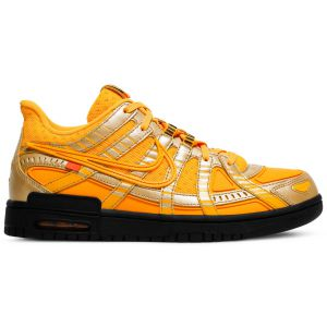 Off-White x Air Rubber Dunk 'University Gold' CU6015 700