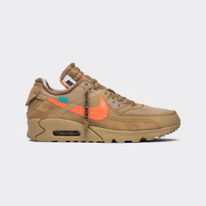 "OFF-WHITE x Nike Air Max 90 ""Desert Ore"" Release Date AA7293-200"