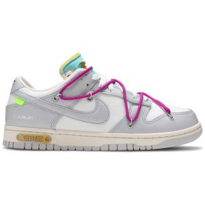 Off-White x Nike Dunk Low 'Lot 21 of 50' DM1602 100