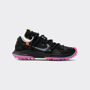 OFF-WHITE x Wmns Air Zoom Terra Kiger 5 'Athlete in Progress - Black' CD8179-001