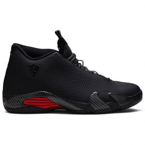 Air Jordan 14 Retro SE Black Ferrari BQ3685 001