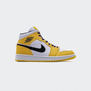 Air Jordan 1 Mid Lakers 852542-700