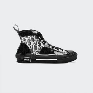 Dior B23 Oblique High Top Sneaker Black T00853H063