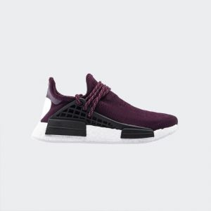 "Pharrell Williams x Adidas NMD Human Race ""Noble Crimson"" Real Boost BB0617"