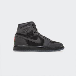 "Rox Brown x Air Jordan 1 Retro High OG 3M ""Black"" BV1576-001"
