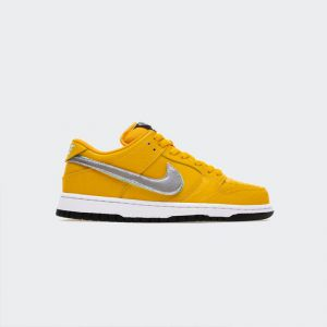 Dunk SB Diamond x Nike SB Dunk Low Pro OG QS Canary Yellow BV1310-700