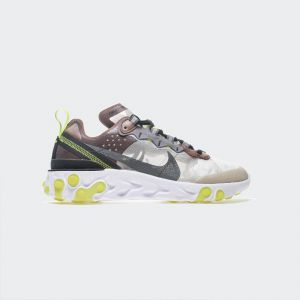Nike React Element 87 Brown green AQ1090-002