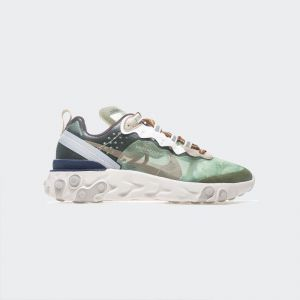 Nike React Element 87 Grey Green Blue BQ2718-300