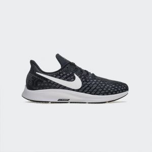 Nike Air Zoom Pegasus 35 Running Shoe Black White 942851-001