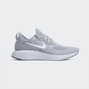 Nike Epic React Flyknit Wolf Grey AQ0067-002