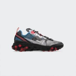 "Nike React Element 87 ""Blue Chill Solar Red""AQ1090-006"