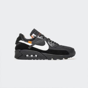 "OFF-White x Nike Air Max 90 ""All Black"" AA7293-001"
