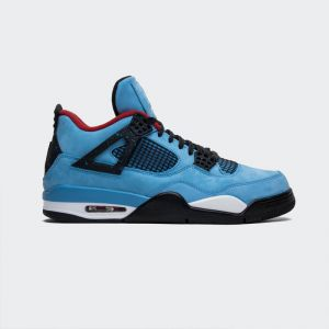 "Travis Scott x Air Jordan 4 ""Houston Oilers"" 308497-406"
