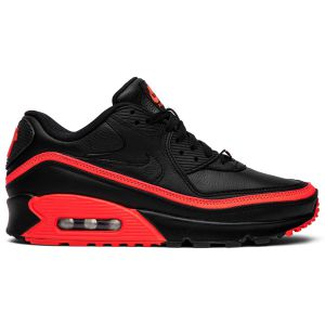 Undefeated x Air Max 90 'Black Solar Red' CJ7197 003