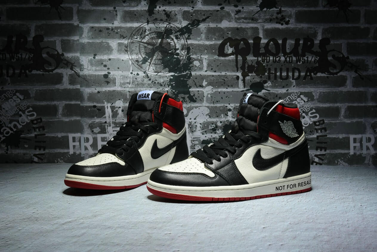 "Are the Air Jordan 1 NRG OG High ""No L's"" 861428-106 Sneakers for you?"