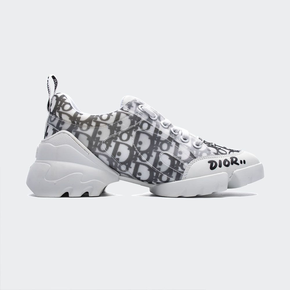 Dior D-Connect Kaleidiorscopic Sneaker White – the Ultimate Luxury Sneakers