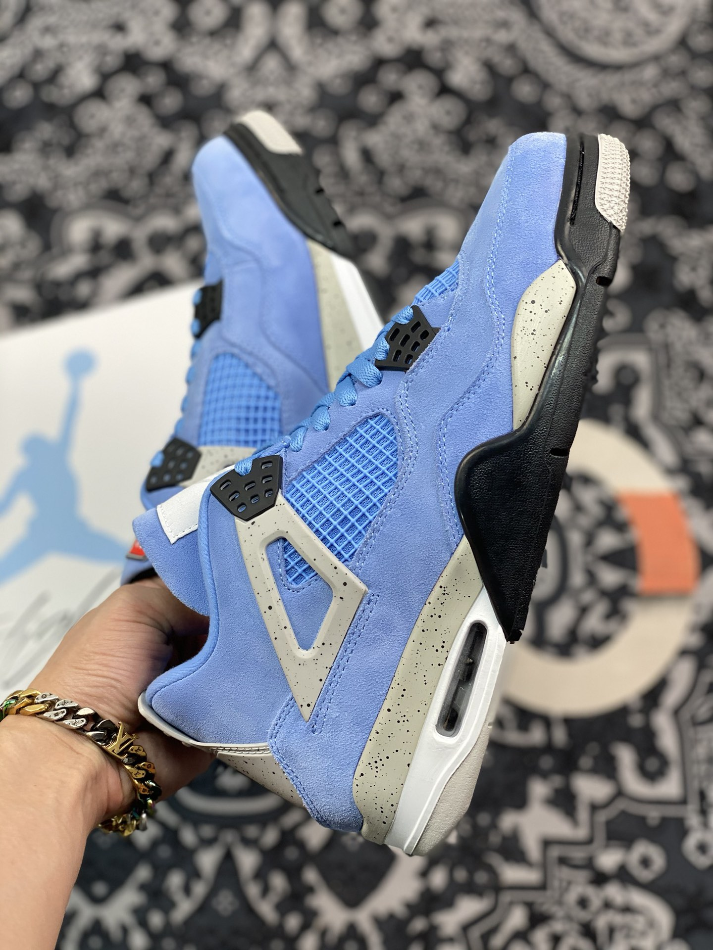 Why Air Jordan 4 Retro 'University Blue' is the Best Sneakers You Can Buy in 2021