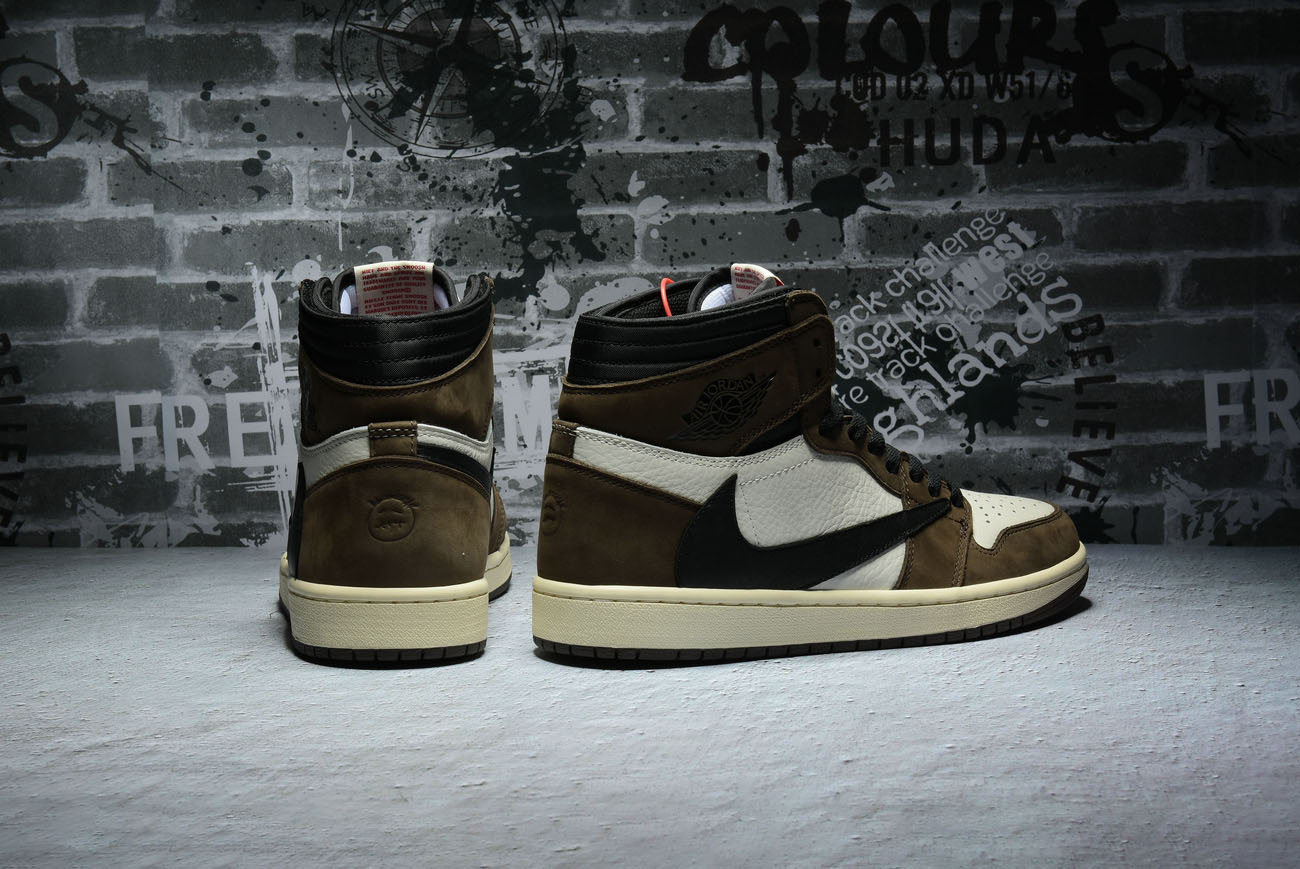 "2358aab78db9 Air Jordan 1 High OG TS SP ""Travis Scott ""CD4487-100"