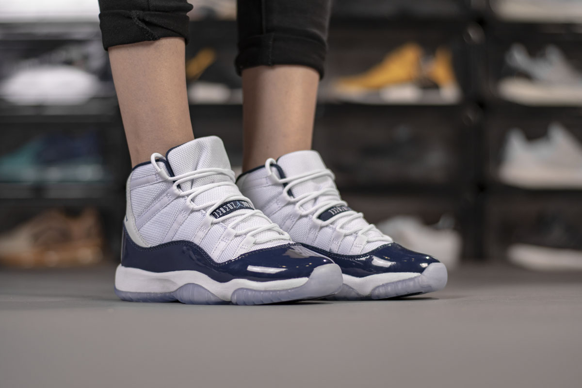 "Air Jordan 11 Retro ""Midnight Navy"" 378037-123"