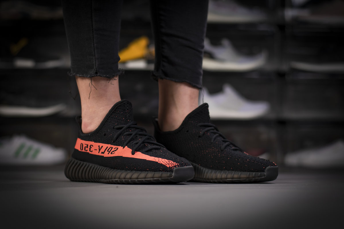 Adidas Yeezy Boost 350 V2 Core Black Red BY9612