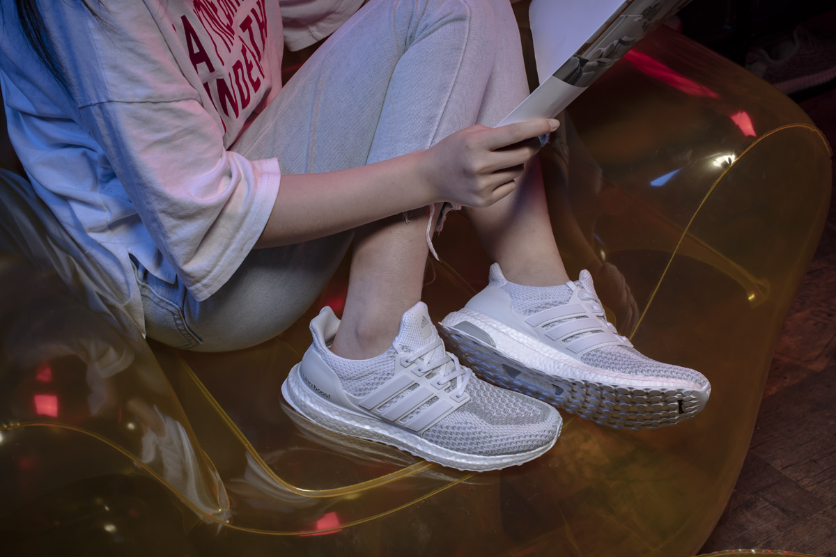 adidas Ultra Boost 2.0 Limited White Reflective