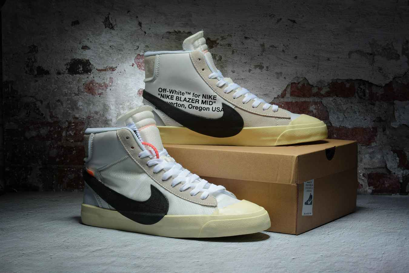 OFF-WHITE x Nike Blazer Mid 'The Ten' AA3832 100